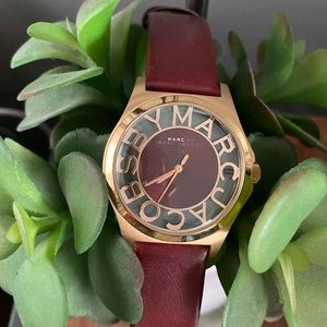 Women's Marc Jacobs leather watch